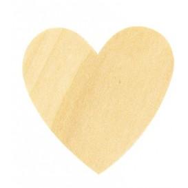 30 coeurs en bois tailles assorties