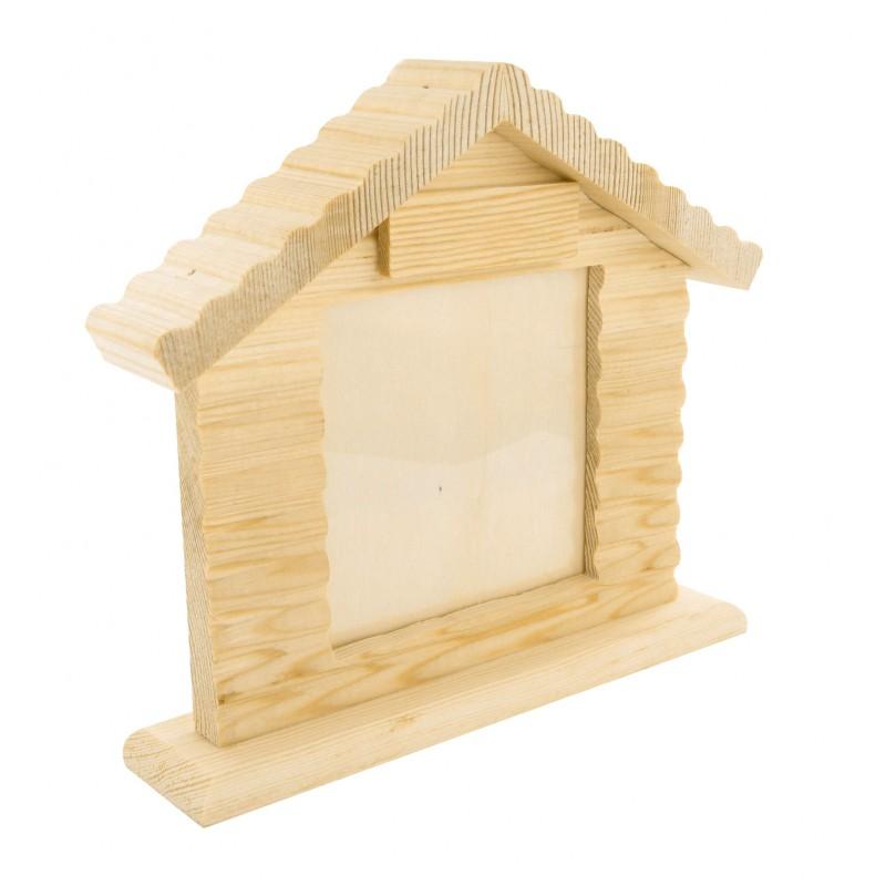 d corer un cadre photo en bois. Black Bedroom Furniture Sets. Home Design Ideas
