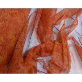 tissu résille camaieu rouge largeur 145cm au mètre