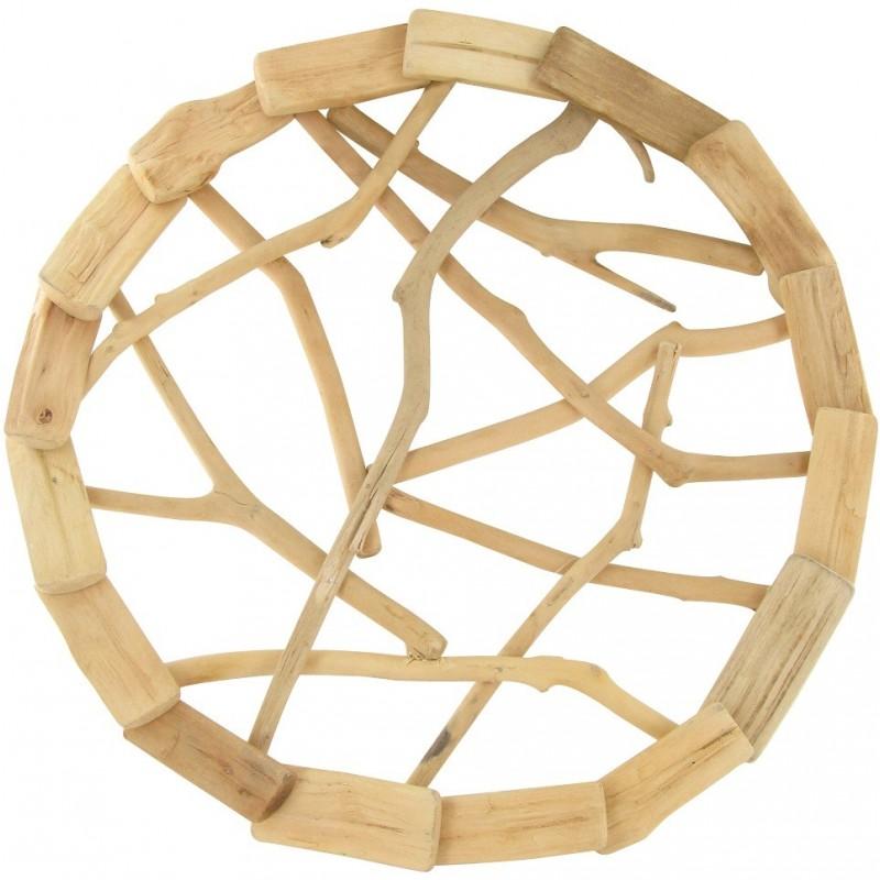 couronne en bois flott 31cm