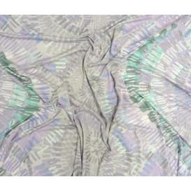tissu jersey imprimé mosaïque largeur 145cm au mètre