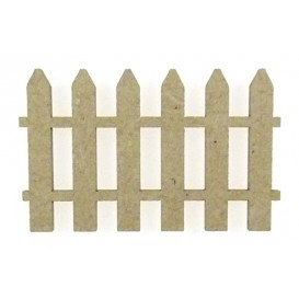 sujet en bois barrière