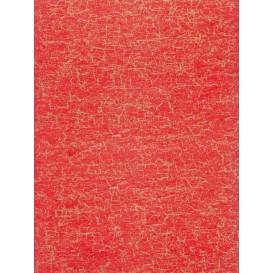 feuille décopatch faux uni rouge