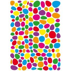 gommettes mosaïques multicolores 300 pièces