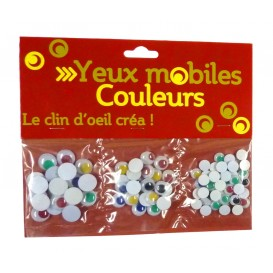 YEUX MOBILES COULEURS