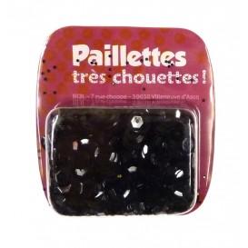 PAILLETTES 15 GRS NOIR