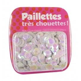 PAILLETTES 15 GRS BLANC NACRE