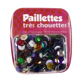 PAILLETTES 15 GRS MULTICOLORE