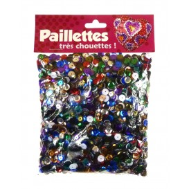PAILLETTES 100 GRS MULTICOLORE