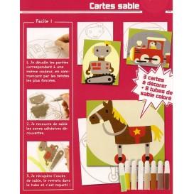 kit 3 cartes sable les jouets