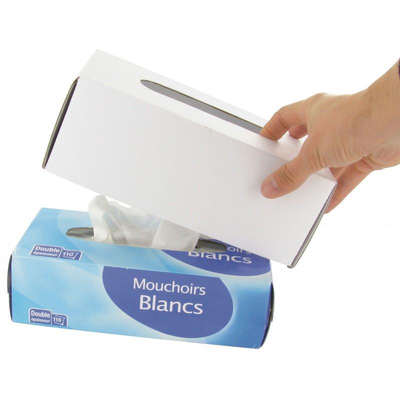 2 couvre bo te mouchoirs d corer - Comment decorer une boite a mouchoir en bois ...