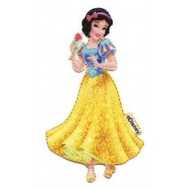 écusson disney blanche neige thermocollant