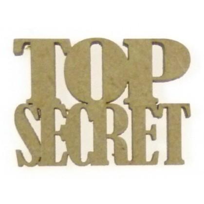 mot en bois top secret
