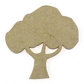 sujet en bois arbre