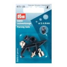3 outils à percer 3 4 et 8mm vario