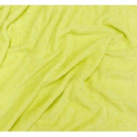tissu éponge anis largeur 160cm au mètre