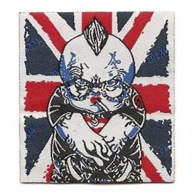 écusson drapeau anglais bad boy à coudre