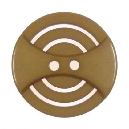 bouton strie circulaire 44mm