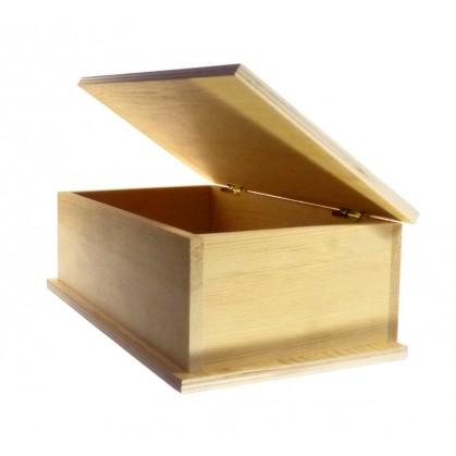 Bo te sucres en bois brut d corer for Boite a couture en bois a decorer
