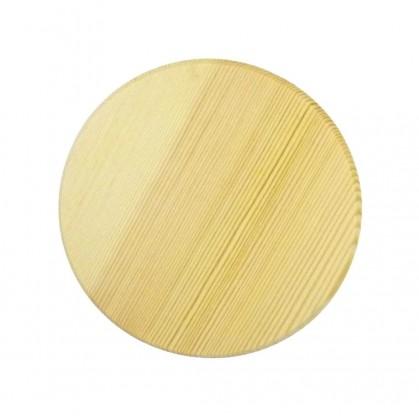 Dessous De Verre Bois : dessous de verre rond en bois brut d corer ~ Teatrodelosmanantiales.com Idées de Décoration