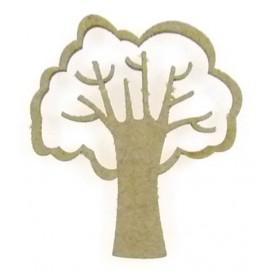 sujet en bois arbre n°2