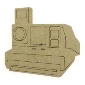 sujet en bois appareil photo polaroid
