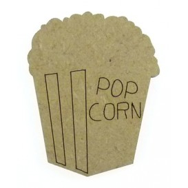 sujet en bois pop corn