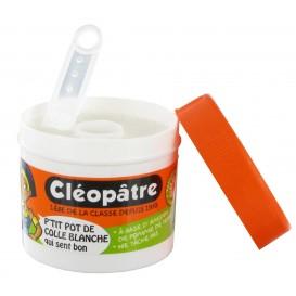 pot de colle cléopâtre 85gr avec spatule