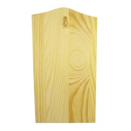 planchette support en bois brut d corer. Black Bedroom Furniture Sets. Home Design Ideas
