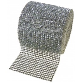 galon imitation strass 11,5cm au mètre