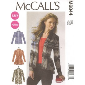 patron cardigans McCall's M6844