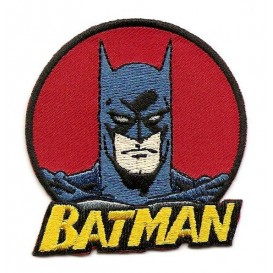 écusson batman thermocollant n°2