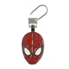 tirette fantaisie métal tête de spiderman ultimate