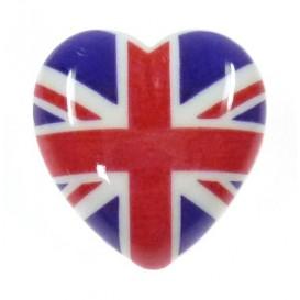 bouton déco coeur anglais 22mm