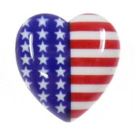 bouton déco coeur usa 22mm
