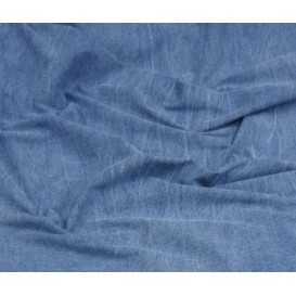 coupon 2m jean coton/spandex bleu