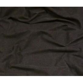 tissu jean coton/spandex noir largeur 140cm x 50cm