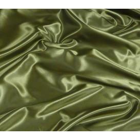 tissu satin kaki largeur 150cm x 50cm