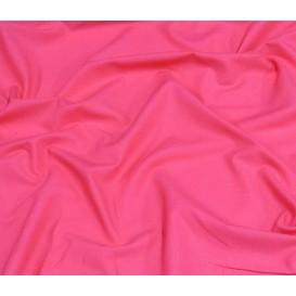 tissu coton uni fuchsia largeur 150cm x 50cm