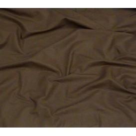 tissu coton uni marron largeur 150cm x 50cm