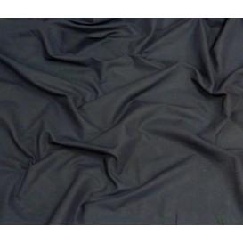tissu coton uni bleu marine largeur 150cm x 50cm