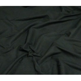 tissu coton uni noir largeur 150cm x 50cm