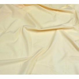 tissu coton uni écru foncé largeur 150cm x 50cm