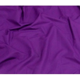 tissu coton uni violet largeur 150cm x 50cm