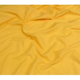 tissu coton uni jaune foncé largeur 150cm x 50cm