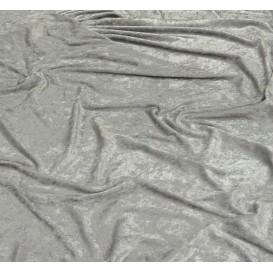 tissu panne de velours gris foncé largeur 150cm x 50cm