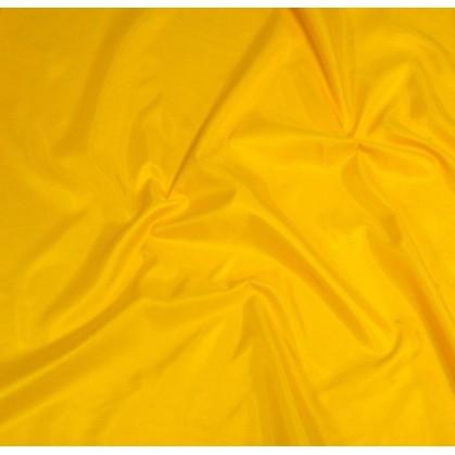 tissu doublure toscane jaune largeur 150cm x 50cm