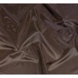 tissu doublure toscane chocolat largeur 150cm x 50cm