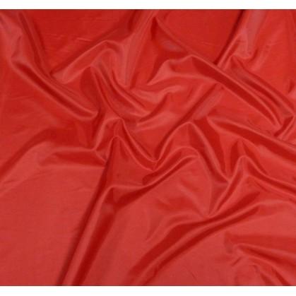 tissu doublure toscane rouge largeur 150cm x 50cm