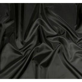 tissu doublure toscane noir largeur 150cm x 50cm